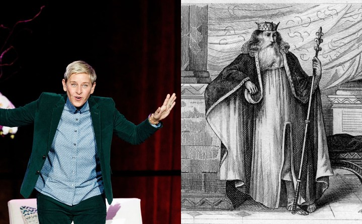 Ellen Degeneres and King Edward III, historic ancestors
