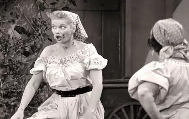 I Love Lucy Grape Stomping Episode