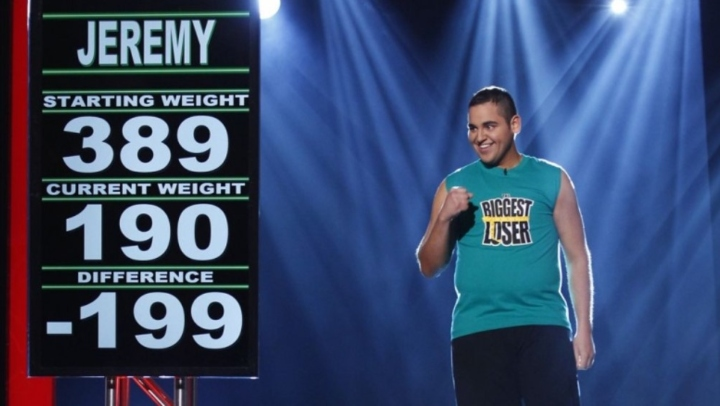 Jeremy from The Biggest Loser, reality tv