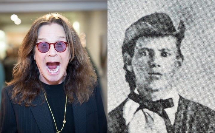 Ozzy Osbourne and Jesse James