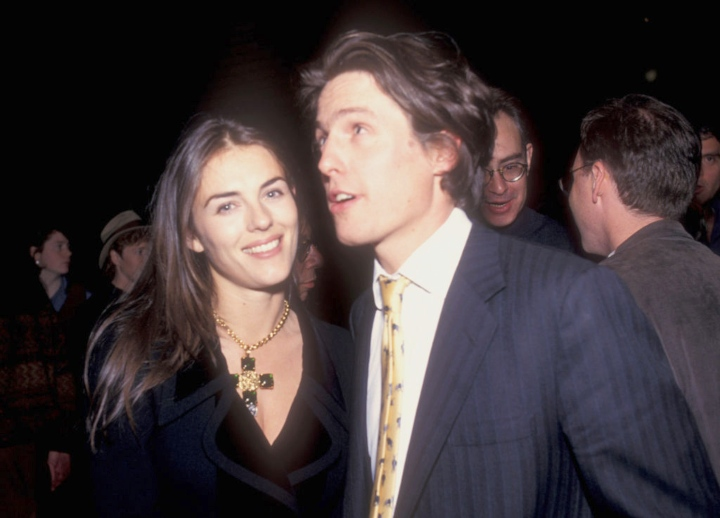 Elizabeth Hurley and Hugh Grant celebrity exes