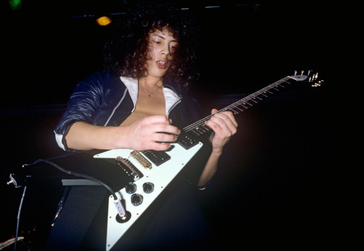 kirk hammett metallica guitarists