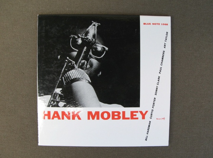 Hank Mobley, Blue Note 1568, vinyl records
