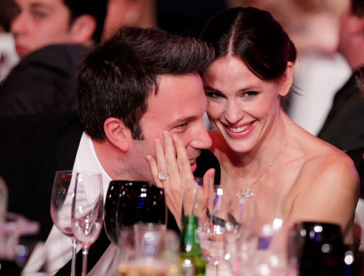 Jennifer Garner and Ben Affleck, celebrity exes