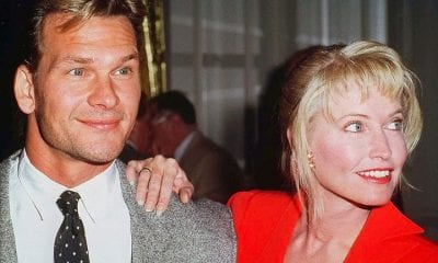 Patrick Swayze and Lisa Niemi