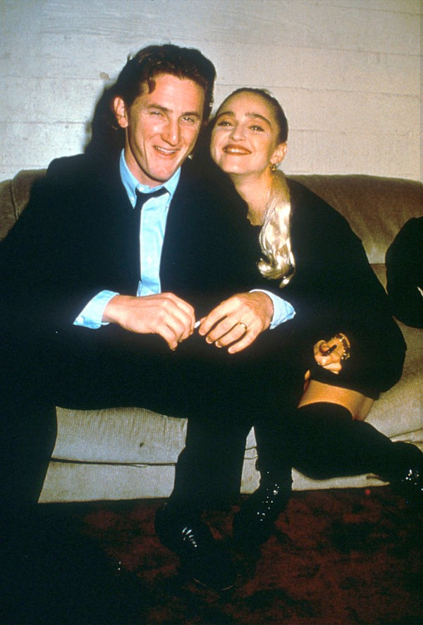 Madonna and Sean Penn, celebrity exes