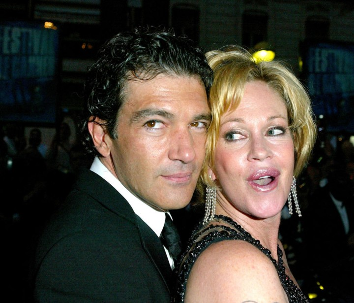 Melanie Griffith and Antonio Banderas, celebrity exes