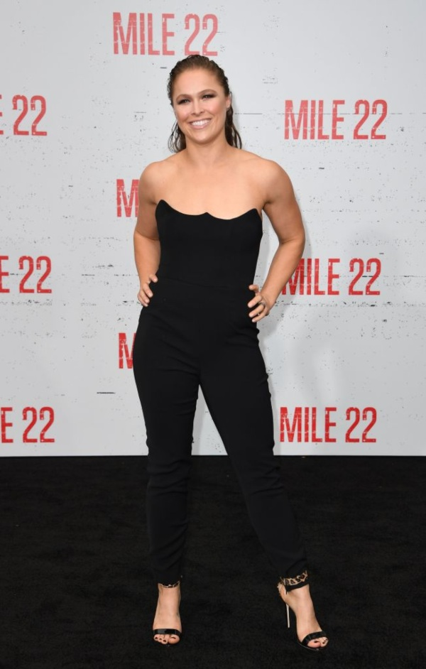 Ronda Rousey, female athletes