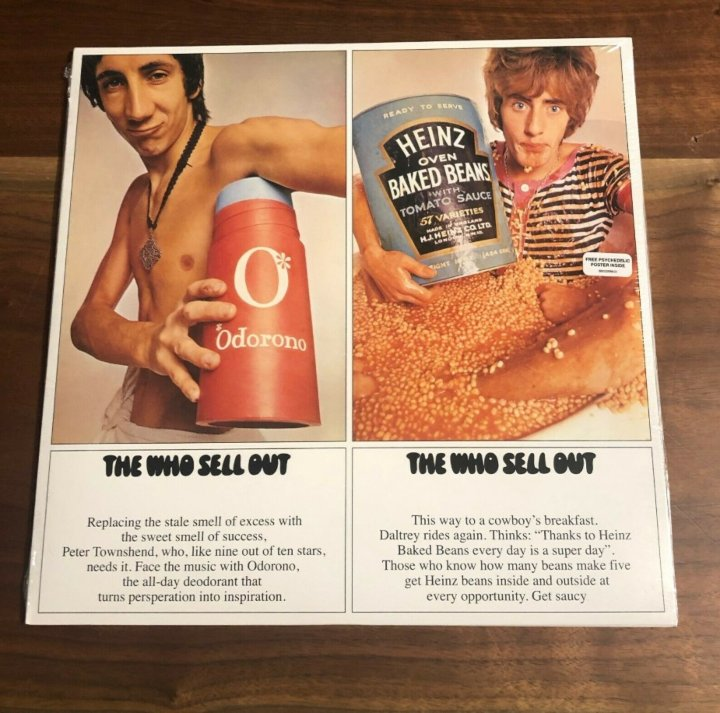 The Who - The Who Sell Out, vinyl records