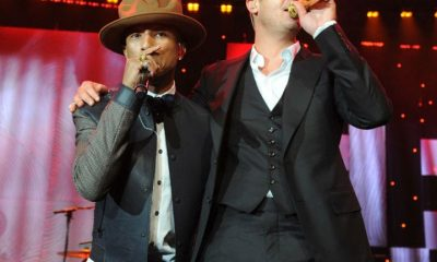 Robin Thicke, music copyright lawsuits