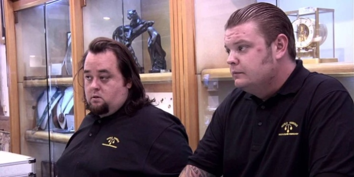 Chumlee and Corey