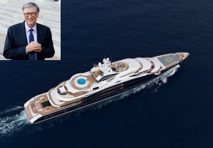 Bill Gates, celebrity yachts
