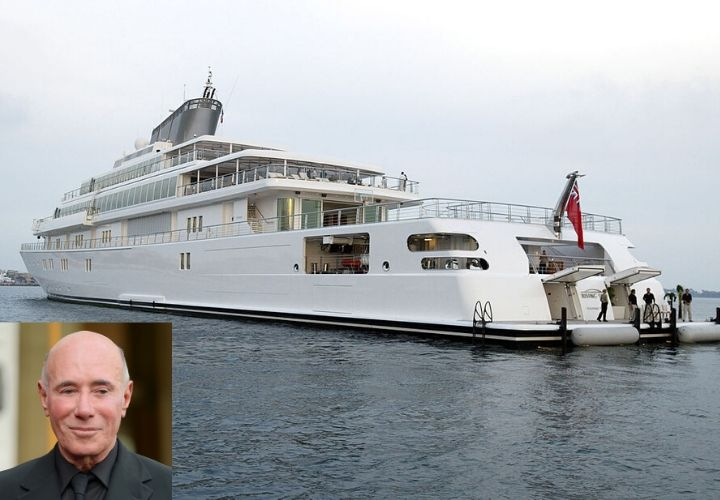David Geffen, celebrity yachts