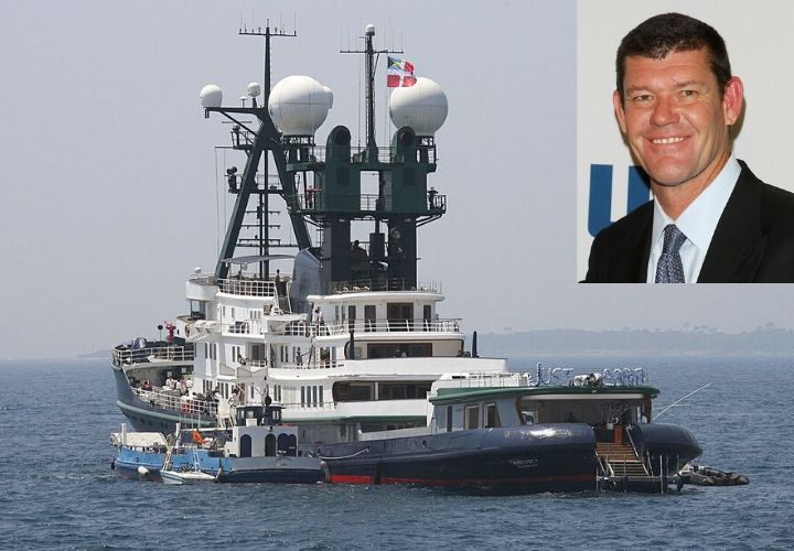 James Packer, yacht