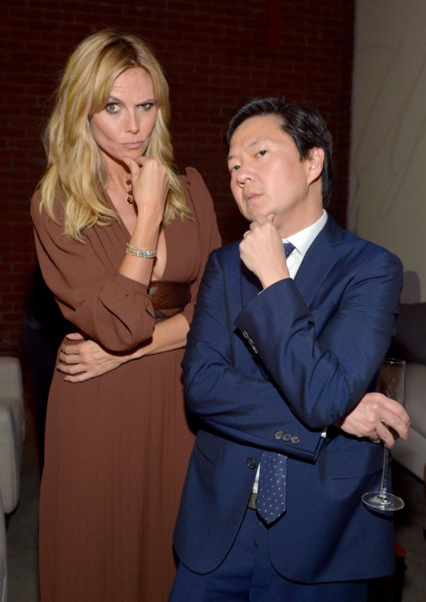 Ken Jeong, Heidi Klum, shortest men
