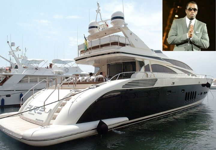 P Diddy, yacht
