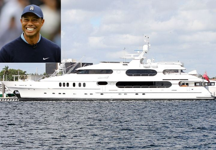 Tiger Woods, yacht