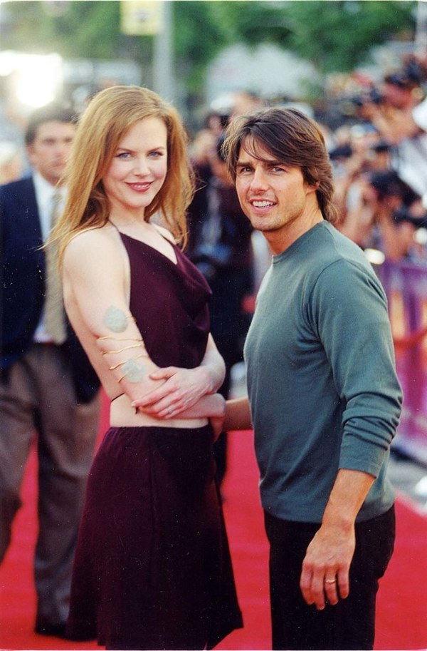 Tom Cruise, Nicole Kidman, shortest men