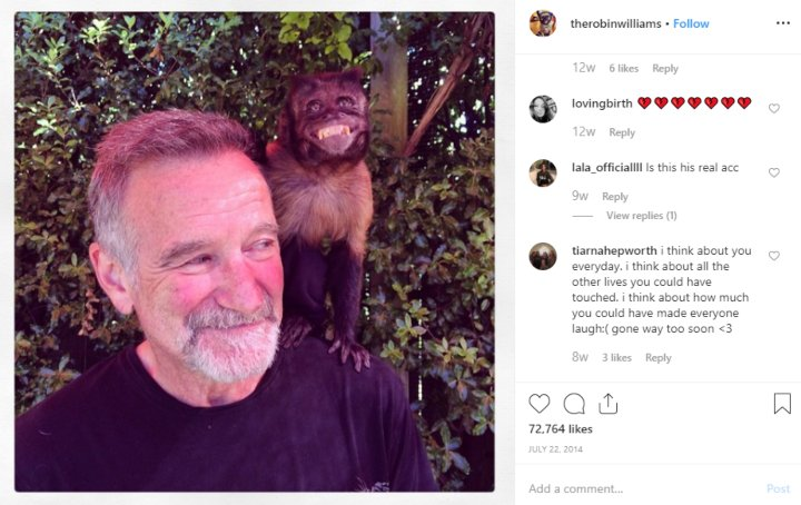 robin williams final photo