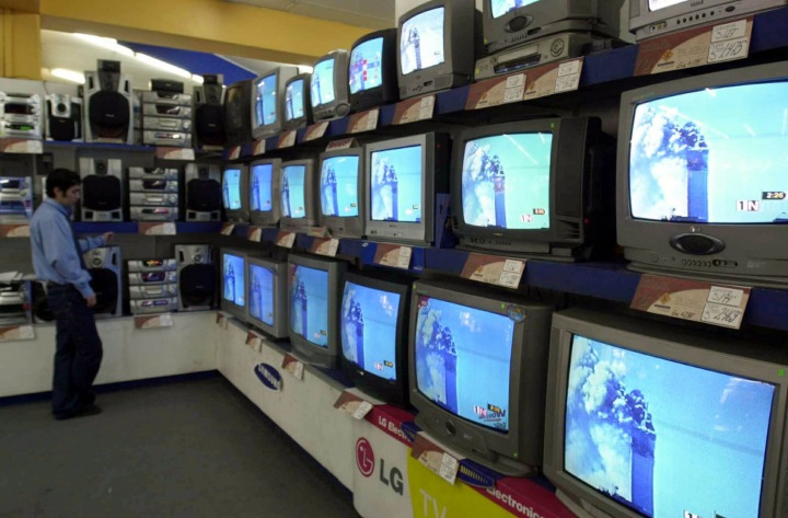 television screens