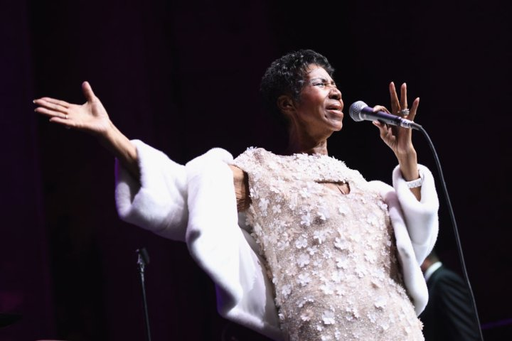 aretha franklin final photo