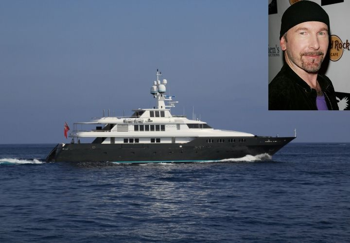 Edge, celebrity yachts