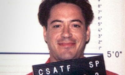Robert Downey Jr., mugshot, hollywood jailbirds