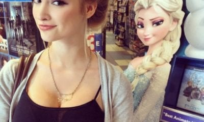frozen cartoon doppelganger