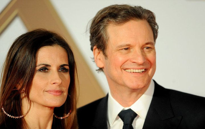 Colin Firth 90s celebrity couples