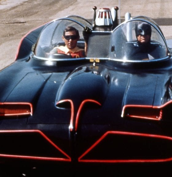 Batman and Robin, batmobile