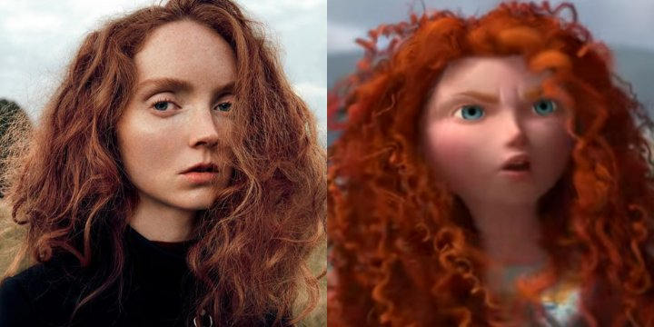 Brave cartoon doppelganger