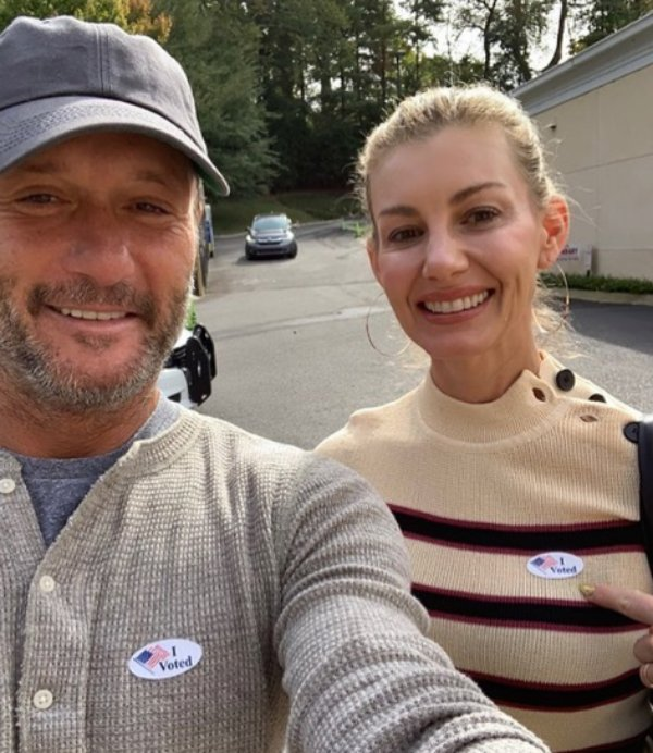 Faith Hill Tim McGraw celebrity couple