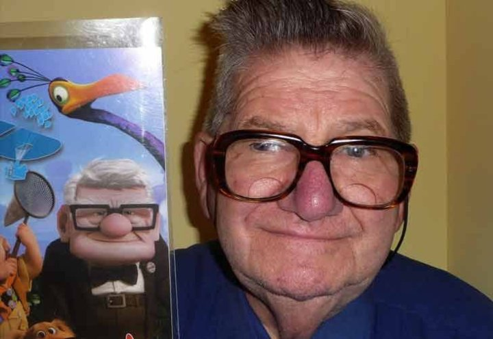 Up cartoon doppelganger