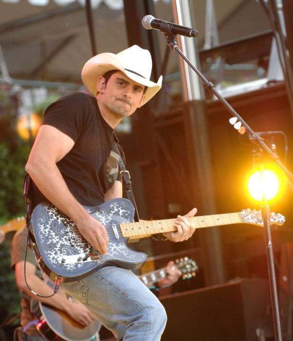 Brad Paisley, richest country stars