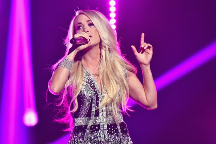 Carrie Underwood, richest country stars
