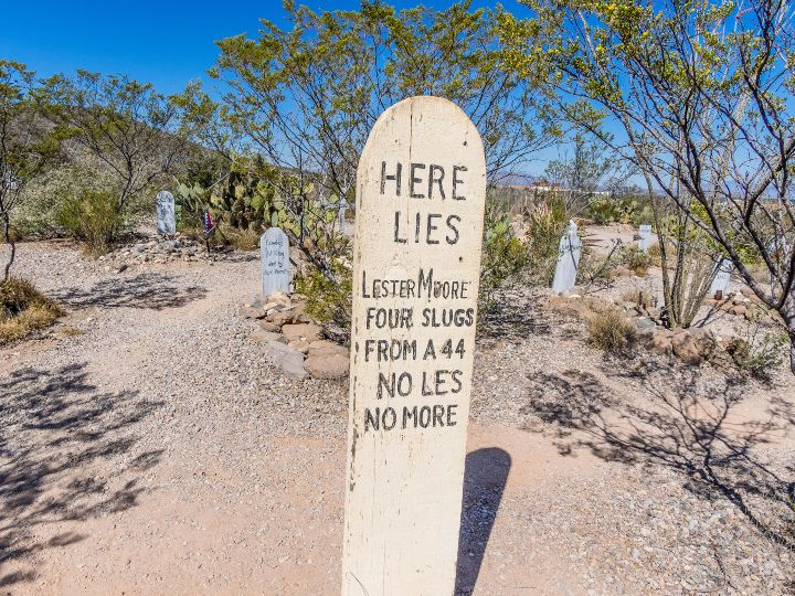 Tombstone Arizona headstone