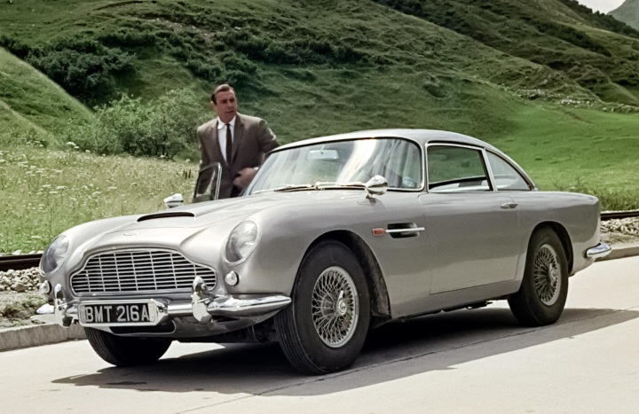 james bond expensive cars