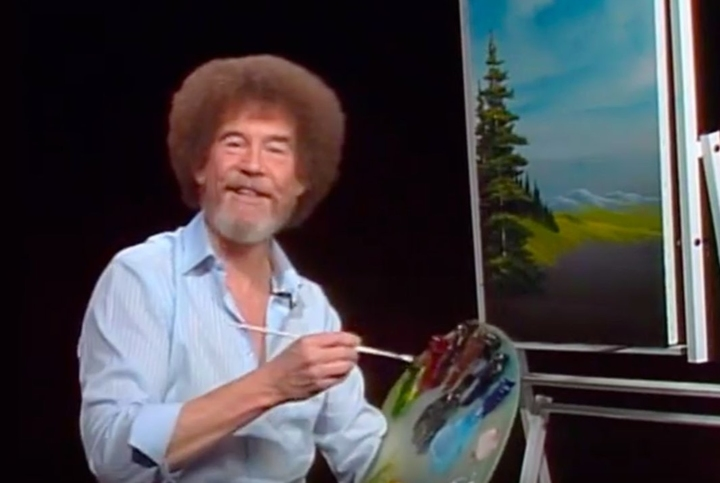 The Joy of Painting, Bob Ross