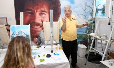 Rob Ross painting class