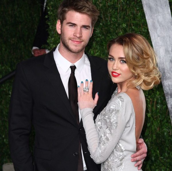 Miley Cyrus. Liam Hemsworth
