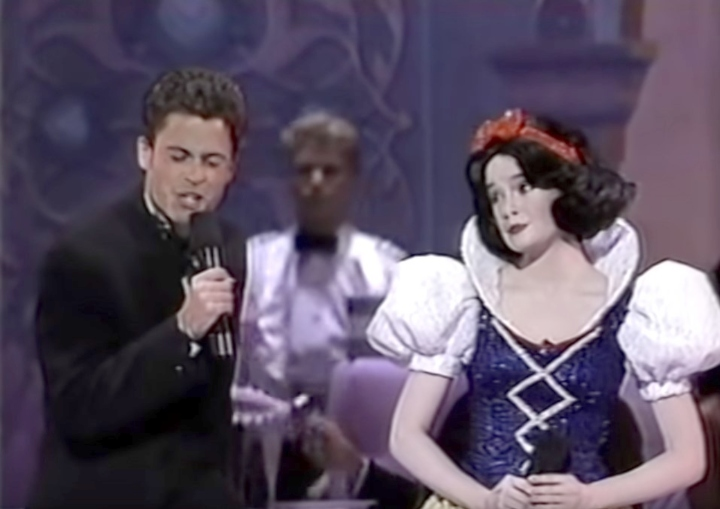 Rob Lowe, Snow White, the Oscars