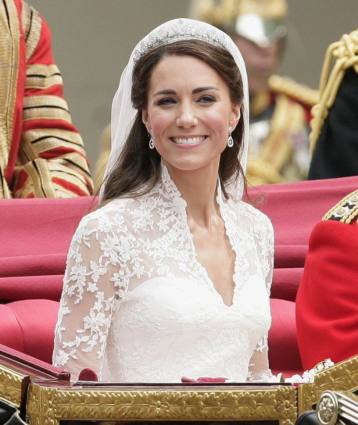 Kate Middleton, Cartier Halo Tiara