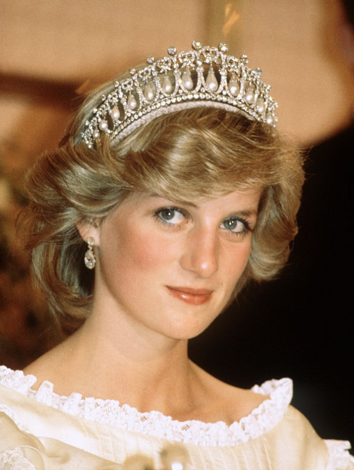Princess Diana, Cambridge Lovers Knot Tiara