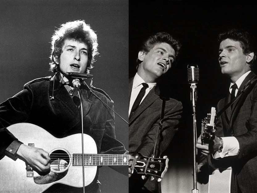 Bob Dylan, The Everly Brothers