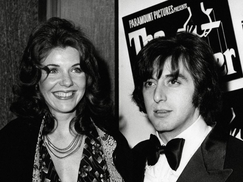 All Pacino and Jill Clayburg at The Godfather premiere