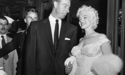 Monroe and Joe Dimaggio