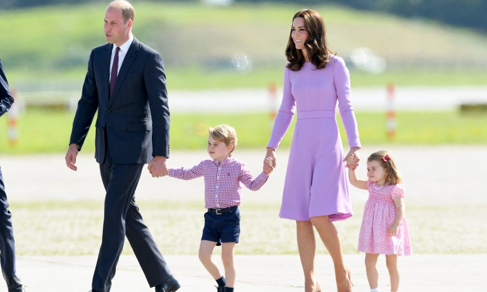 The Duke And Duchess Of Cambridge Visit Germany